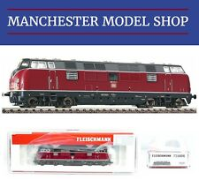 "Fleischmann 725006 N 1:160 Diesel locomotive 221 DB IV ""DCC SOCKET"" NEW BOXED"