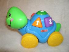 FISHER Price LAUGH n LEARN Roll ALONG Turtle Or SNAIL You CHOSE INTERACTIVE Fun