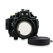 40M 130ft Underwater  Waterproof Housing Case Cover for Olympus E-M5 EM5 12-50mm