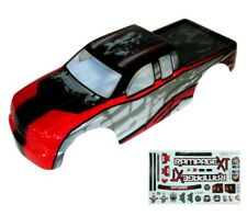 1:5 Redcat Rampage Monster Truck Red & Black Body Shell With Decals MT XT