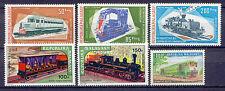 Eisenbahn, Railways - Madagaskar - 6 Werte ** MNH