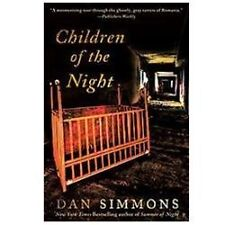 Children of the Night by Dan Simmons (2012, Paperback  free ship/trk!