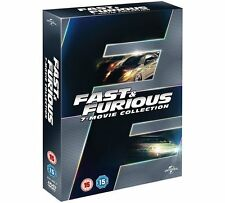 Fast and Furious 1-7 Movie Collection Brand New DVD Set + BONUS