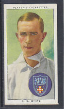 John Player - Cricketers 1938 - # 50 Ted White - New South Wales