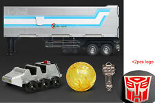 WEIJIANG Trailer for Transformers Optimus Prime MPP10 2 Metal Autobot Logo Free