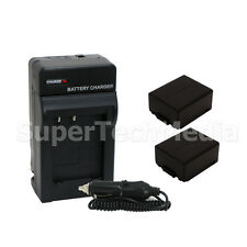 Battery & Charger For Panasonic DMW-BLB13 DMC-GF1 DMC-GH1 DMC-G1 DMC-G2 DMC-G10