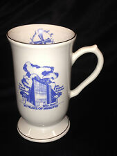 CRYSTAL CATHEDRAL MINISTRIES IRISH COFFEE MUG CUP 1985 30 YR ROBERT SCHULLER