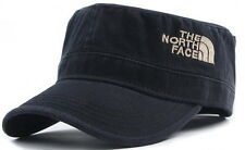The North Face Black Military Cap/Adjustable Size