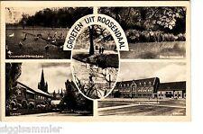 Groeten uit Roosendaal AK 1958 Multi-vue Station Niederlande Nederland 1506297