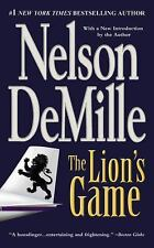 The Lion's Game by Nelson DeMille Fiction Action Suspense Thriller Sharp Humor