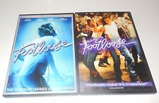 Lot of Footloose 1984 and 2011  1 & 2 New & Old DVD 2 Discs WS  Bacon Hough