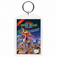 Nintendo Nes DOUBLE DRAGON II  Game Box Cover Keychain New #1