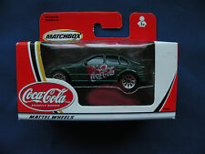 Matchbox Matte Coca-Colal Wheels 2002 Ford Falcon green logos on doors #92353