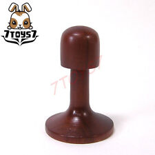 7Toys7 1/6 Wooden hat / helmet_ Display Stand _Now 7T018A