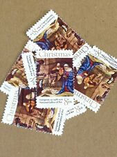 100 USED STAMPS SCOTT #1444 8C CHRISTMAS ADORATION