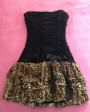 Sexy Leopard Barbie Doll Dress; size S