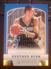 2012-13 Panini #283 Gustavo Ayon Rookie RC Gold Knight Parallel MINT