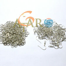 200 Jewellery Making Accessories Earrings Hook & Jump Ring each 100pcs