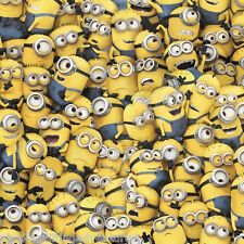 FABRIC Quilting Treasures ~ DESPICABLE ME - 1 IN A MINION ~ (23989 S) by 1/2 yd