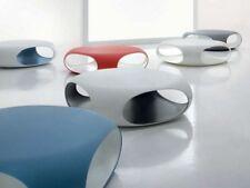 BONALDO tavolino Pebble intero grigio esterno bianco con contenitore salottoTD23