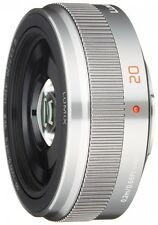Panasonic Micro Four Thirds for the LUMIX G 20mm / F1.7 II ASPH Silver H-H020A-S