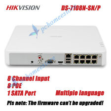 Hikvision DS-7108N-SN/P 8 Channel 8 Port POE CCTV Embedded Mini Plug & Play NVR