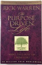 The Purpose Driven Life - Rick Warren - PRISTINE Softcover - 2007
