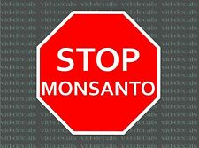 Stop Monsanto no gmo bumper sticker