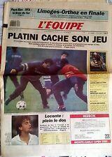 L'Equipe Journal 26/4/1989; Limoges-Orthez/ Pays-Bas-RFA/ Bézault/ Les Bleus