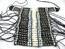 Turquoise Bone Hairpipe Breastplate Choker Ceremonial Regalia Pow Wow