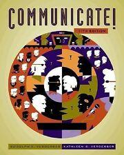 Communicate! (with CD-ROM and InfoTrac), Verderber, Kathleen S., Verderber, Rudo