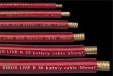 Batteriekabel  transparent/rot 1x 10mm² Querschnitt