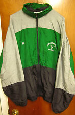 EASTERN MICHIGAN Eagles nylon jacket EMU baseball Ypsilanti embroidery XL