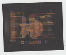 2011 SDCC COMIC CON CBS STAR TREK 3D LENTICULAR PROMO CARD USS ENTERPRISE