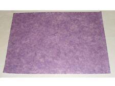 feuille de papier couleur lavande avec fibres (taille:70X50cm)