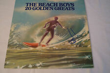 THE BEACH BOYS -20 GOLDEN GREATS - Personally signed by Brian Wilson w / COA