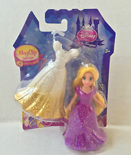 MAGICLIP DOLL DISNEY PRINCESS RAPUNZEL WITH EXTRA DRESS SEALED NEW MATTEL