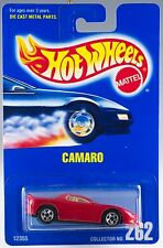 Hot Wheels Collector #262 Camaro Red With 5SP's Gold HW Logo MOC 1992