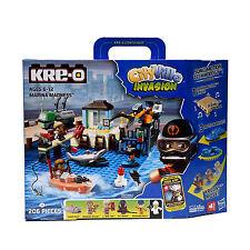 206pz CityVille Hasbro Kre-O Invasione Marina Madness Costruzione regalo bambini