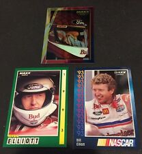 BILL ELLIOTT 1993 & 1994 Maxx LOT of ( 3 ) Different PROMO Racing NASCAR Cards