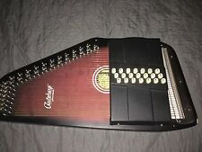 Oscar Schmidt OS-21 21-Chord Autoharp w/ Case and Tuning Wrench