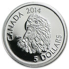 2014 1/10 oz Platinum Canadian $5 Coin - Bald Eagle - SKU #82748