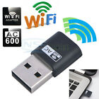 AC600 Dual Band Wireless USB Wifi Network Adapter LAN Card 5Ghz 433Mbps 802.11AC
