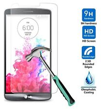 New Premium Real Tempered 9H Glass Screen Protector Skin Film For LG G3 G 3