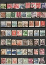 JAPAN STAMPS USED VINTAGE SELECTION FILL THOSE SPACES ASIA STAMPS