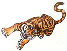 1 x SHEET OF TIGER TEMPORARY TATTOOS = TY0189