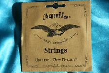 Aquila 5U New Nylgut Soprano Ukulele String Set w/ Wound Low G String