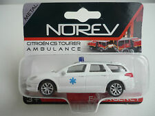 "Norev Citroen C5 Break ""Ambulance/Docteur"" in Weiss  1/64 3inch OVP"