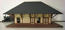 BRIDGTON & SACO RIVER NORTH BRIDGTON DEPOT O On30 Railroad Structure Kit DF211