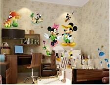 Mickey Mouse Hat Dancing&Palying Wall Sticker Art Vinyl Home Room Decor Decal